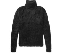 Textured-knit Rollneck Sweater