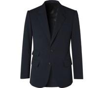 Cotton-Seersucker Suit Jacket
