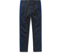 Prospect Canvas-panelled Cotton-twill Trousers