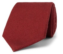 + Drake's 9cm Wool, Silk and Cashmere-Blend Tie