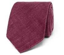 8cm Slub Silk Tie