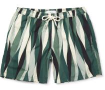 Printed Shell Swim Shorts