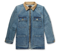 Corduroy-trimmed Selvedge Denim Jacket