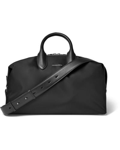 Alexander McQueen Herren Leather-trimmed Shell Holdall
