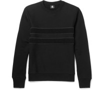 Panelled Loopback Organic Cotton Sweatshirt