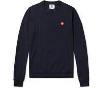Kip Logo-Appliquéd Merino Wool Sweater