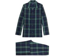 Checked Cotton Pyjama Set