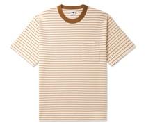 Jorah Striped Stretch-Cotton and Modal-Blend Jersey T-Shirt