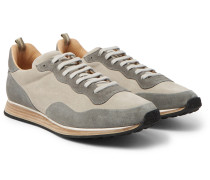 Keino Two-tone Suede Sneakers