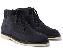 Icer Walk Cashmere-lined Water-repellent Suede Boots