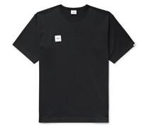 Logo-Appliquéd Cotton-Blend Jersey T-Shirt
