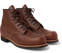 Cooper Moc Leather Boots
