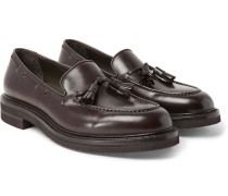 Leather Tasselled Loafers