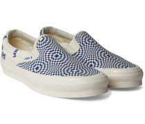 OG Classic LX Printed Canvas Sneakers
