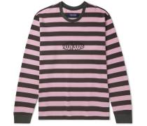 Jalama Logo-Embroidered Striped Cotton-Jersey T-Shirt