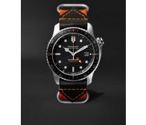 Supermarine Endurance Limited Edition Automatic GMT 43mm Titanium and Nylon Watch, Ref. No. S500/ENDURANCE