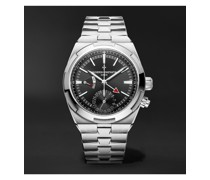 Overseas Automatic Dual Time 41mm Stainless Steel Watch, Ref. No. 7900V/110A-B546