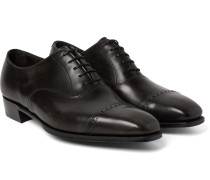 Nakagawa Leather Oxford Brogues