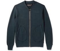 Loopback Cotton-jersey Zip-up Sweatshirt