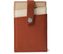 Kennedy Leather Cardholder With Money Clip