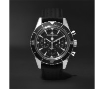 Deep Sea Chronograph 42mm Stainless Steel And Leather Watch