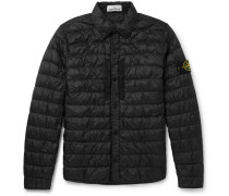 Quilted Garment-dyed Shell Down Jacket