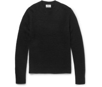 Peele Boiled Wool And Cashmere-blend Sweater