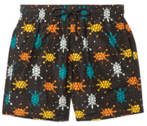 Mahina Mid-length Printed Swim Shorts