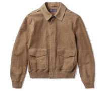 Henfield Suede Aviator Jacket