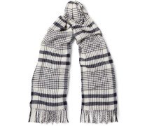 Canada Checked Virgin Wool Scarf