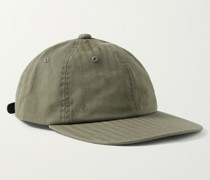 Herringbone Cotton Baseball Cap
