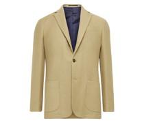 Virgil No. 2 Slim-Fit Garment-Dyed Cotton and Wool-Blend Hopsack Blazer
