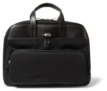 Nightflight Leather And Nylon Holdall