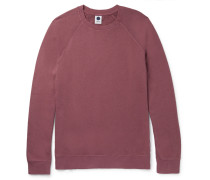 Alex Brushed Loopback Cotton-jersey Sweatshirt
