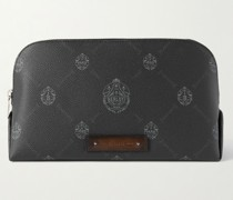 Signature Canvas and Leather Wash Bag
