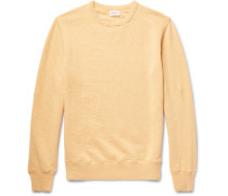 Loopback Slub Cotton-jersey Sweatshirt