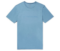 Stencil Slim-fit Printed Organic Cotton-jersey T-shirt
