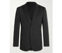 Mayfair Slim-Fit Cotton and Silk-Blend Blazer