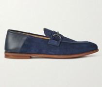 Chiltern Suede and Leather Loafers
