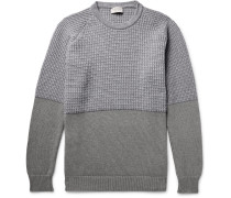 Merino Wool And Cashmere-blend And Sea Island Cotton Sweater