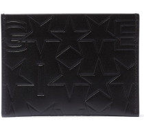 Debossed Leather Cardholder