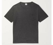 Panarea Striped Cotton and Cashmere-Blend Jersey T-Shirt