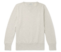 1930s Bay Meadows Mélange Loopback Cotton-jersey Sweatshirt