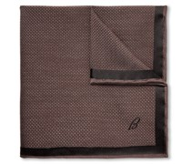 Silk-Jacquard Pocket Square