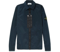 Garment-dyed Shell Jacket
