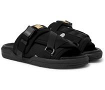 Christo Canvas Sandals