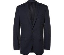 Navy Ludlow Slim-fit Wool Suit Jacket