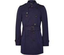 London Kensington Mid-length Waterproof Cotton-gabardine Trench Coat