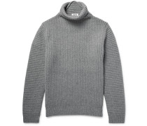 Kalle Ribbed Wool Rollneck Sweater