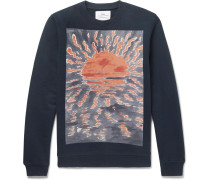 + Goss Brothers Setting Sun Loopback Cotton-jersey Sweatshirt
